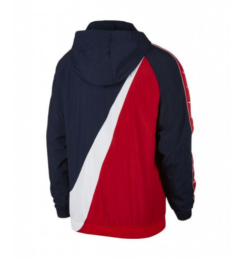 Windrunner Nike Taped Swoosh Navy-Red