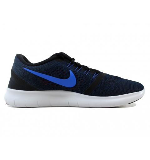 Nike Free RN Negra-Azul