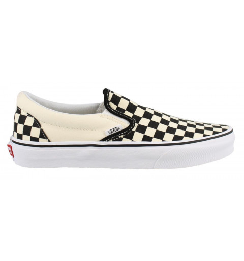 Vans Classic slip-On Cuadro Negro