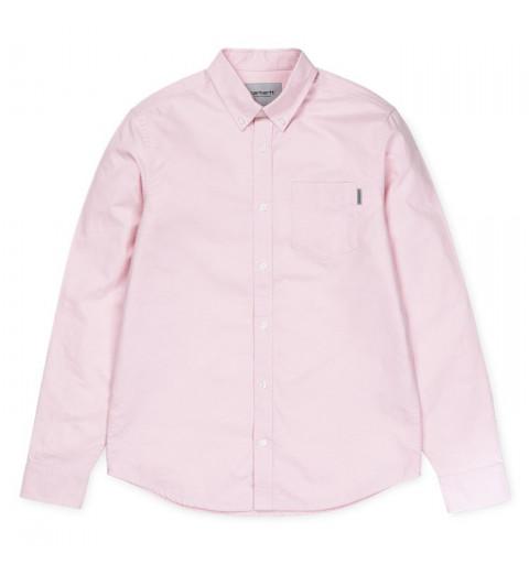 Camisa Carhartt Button Rosa