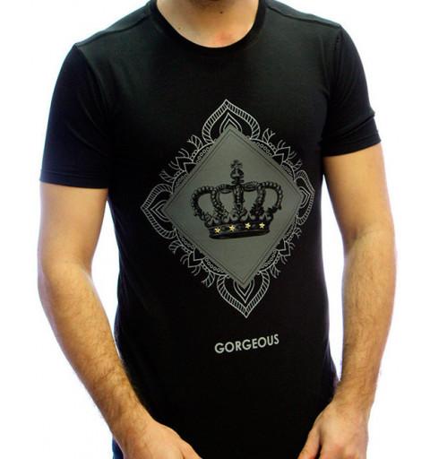Camiseta Gorgeous Crow Negra