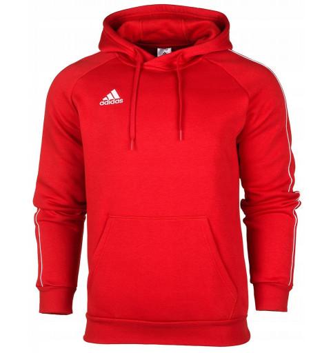 Sudadera Adidas Core 18 Hd Roja