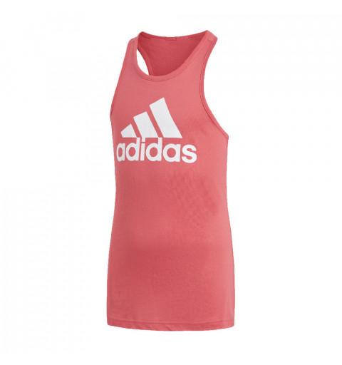 Tank Adidas YG Logo Rosa