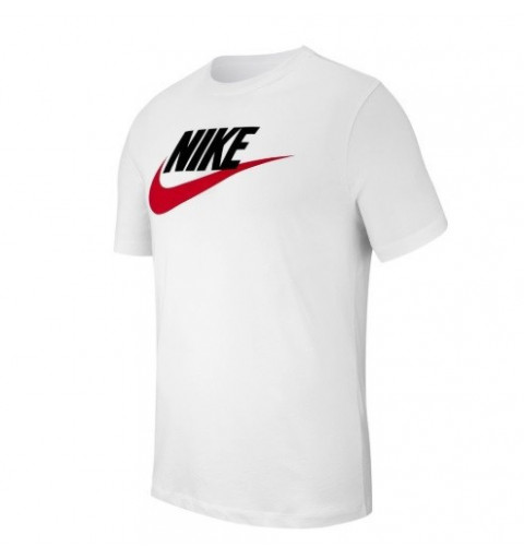 Camiseta Nike NSW Icon Futura White