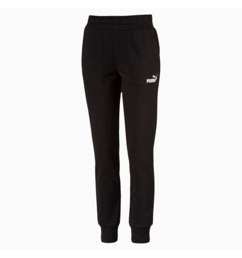 Pantalón Puma W Ess Sweat Fl Cotton Black