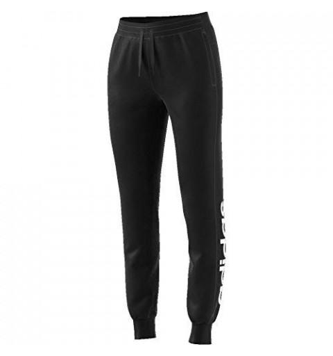 Pantalón Adidas W E Lin Black/White