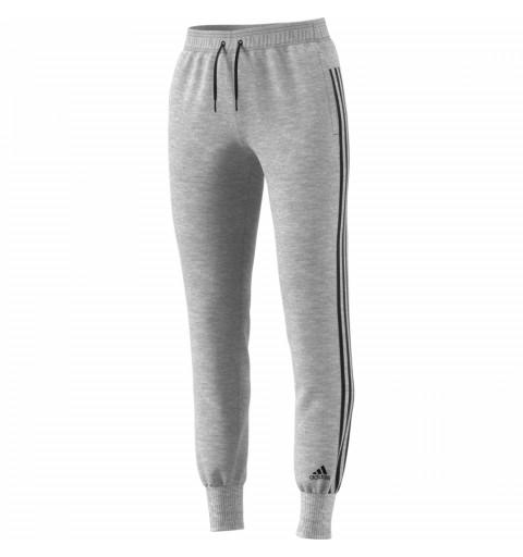 Pantalón Adidas W Mh 3S Grey-Black