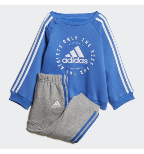 Chandal Adidas I 3S Jogg Fl Blue
