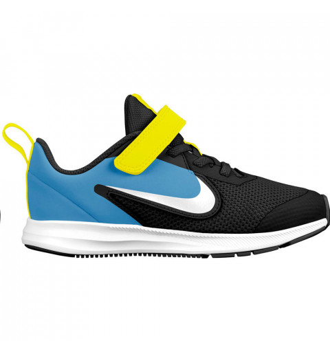 Nike Downshifter 9 PSV Negra-Azul