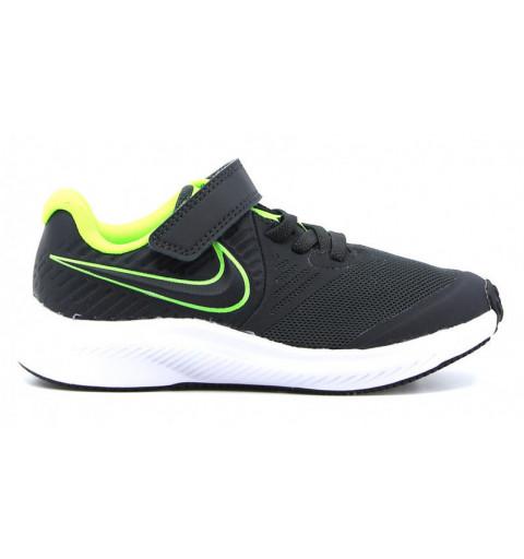 Nike Star Runner 2 PSV Negra-Verde