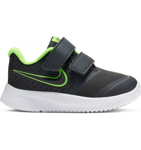 Nike Star Runner 2 TDV Negra-Verde