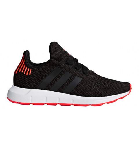 Adidas Swift Run J Black-Red