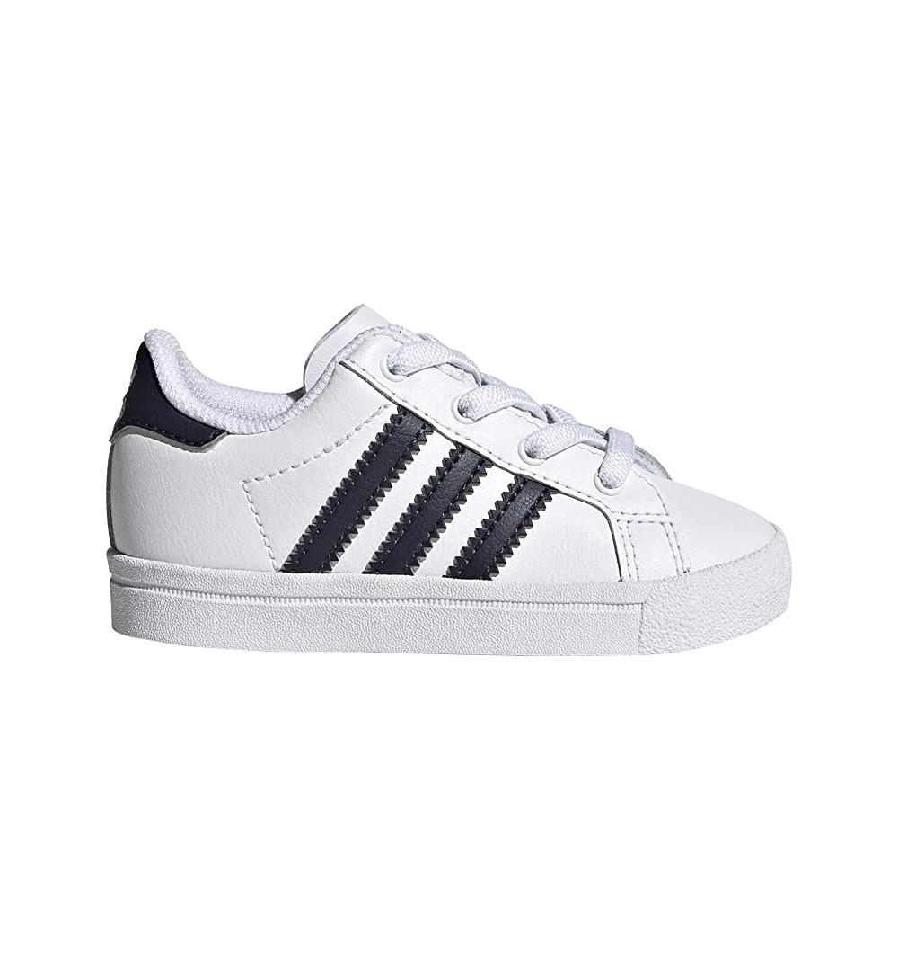 Adidas Coast Star El I White-Navy
