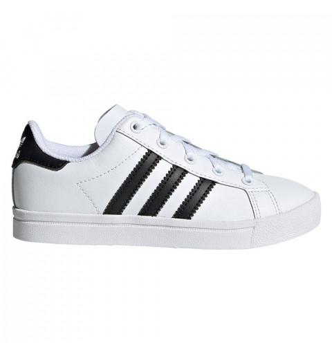 Adidas Coast Star El I White-Black