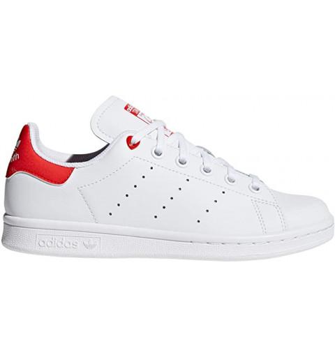 Adidas Stan Smith J White-Orange