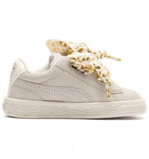 Puma Suede Heart AthLuxe Ps Whisper White