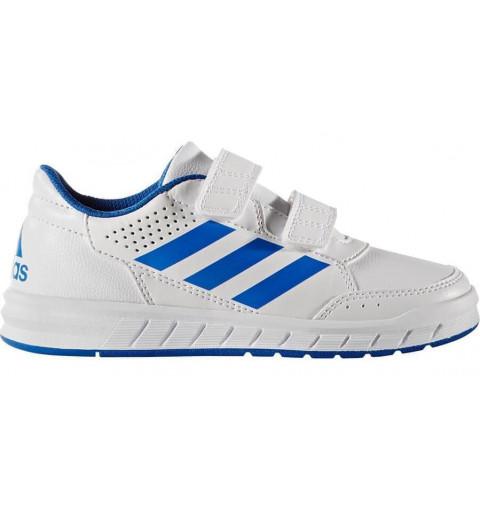 Adidas AltaSport CF K Blanca-Azul