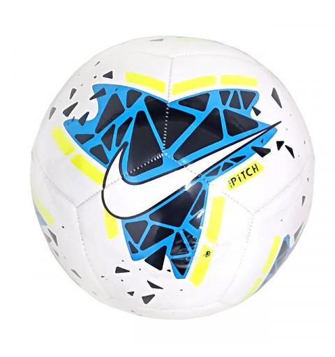 Balón Nike Pitch White-Blue