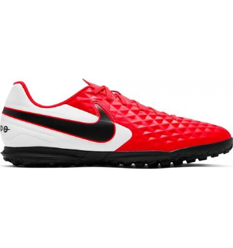 Nike Tiempo Legend 8 Club TF Rojo-Blanco
