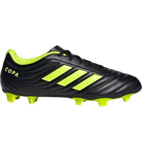 Adidas Copa 19.4 FG Black-Yellow