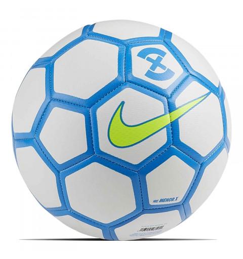 Balón Nike Menor X White-Azul