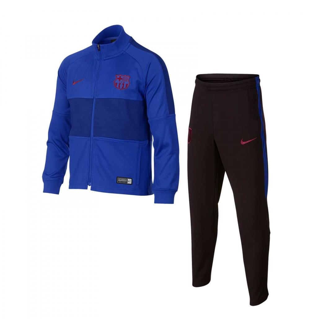 Frente al mar Horror Ir al circuito  Chandal Nike FCB LK Dry Strk Azul