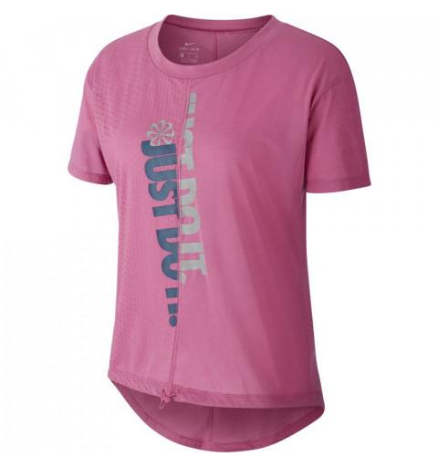 Camiseta Nike W Icon Clash TOP Rosa