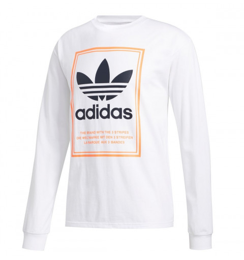 Camiseta Adidas Originals Logo Blanca