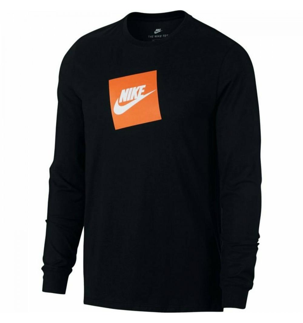 Obsesión Gallina De trato fácil  Camiseta Nike Futura Box Negra