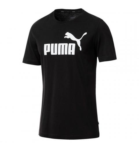 Camiseta Puma Ess Logo Black