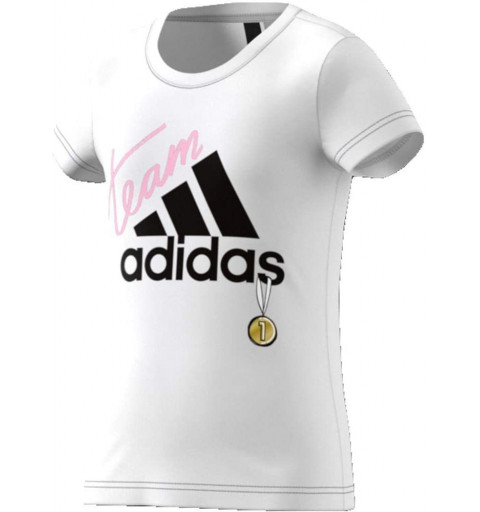 Camiseta Adidas YG Id Graphic White