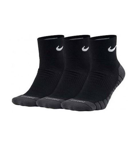 Calcetin Nike Dri-Fit Tobillo Negro