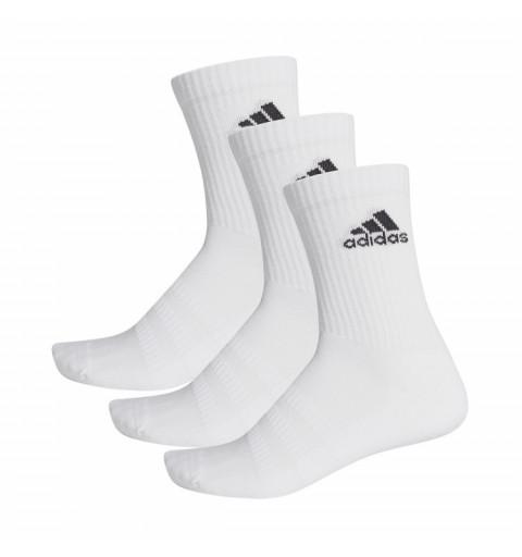 Calcetin Adidas 3S Alto Blanco