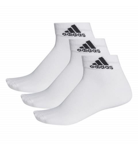 Calcetin Adidas Tobillo Fino Blanco