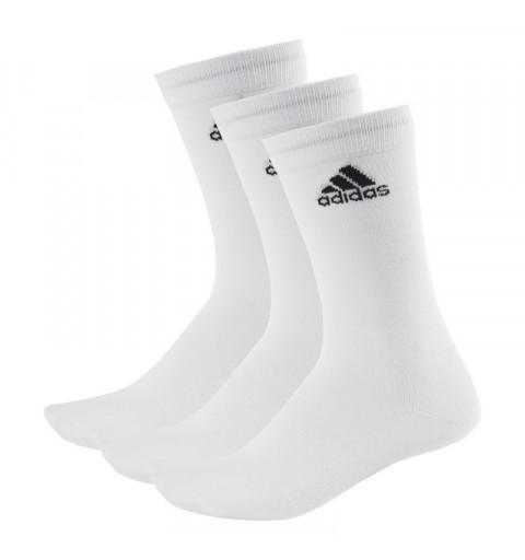 Calcetin Adidas Per Crew 3pp Alto Blanco