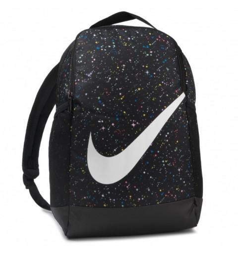 Mochila Nike Brasilia AOP Negra