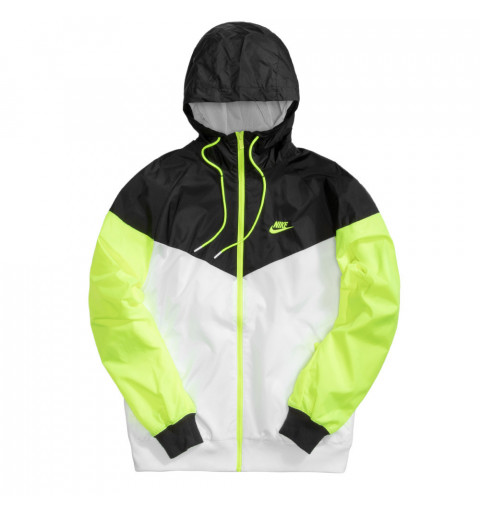 Jacket Nike NSW AIR Negra-Blanca