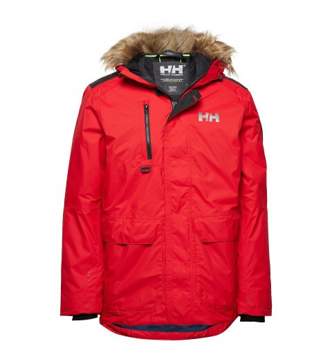 Parka Helly Hansen Coastal 2 Flag Roja