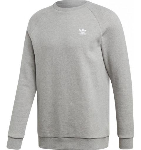 Sudadera Adidas Essential Crew Grey