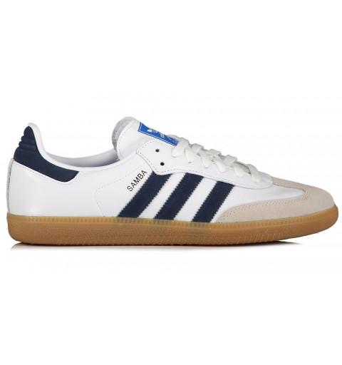 Adidas Samba OG White-Navy