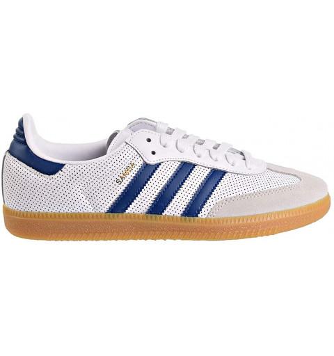 Adidas Samba OG White-Blue