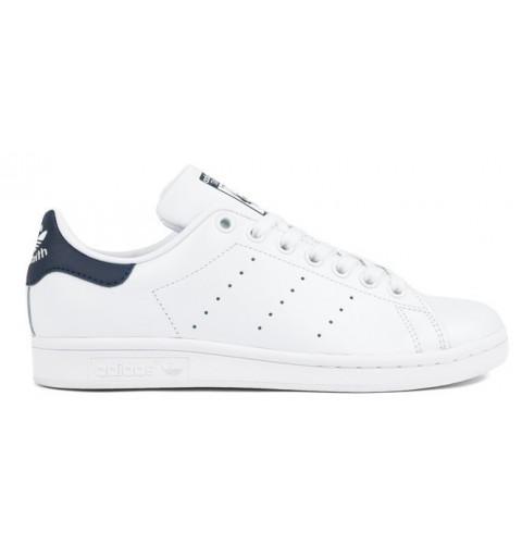 Adidas Stan Smith Blanca-Marino