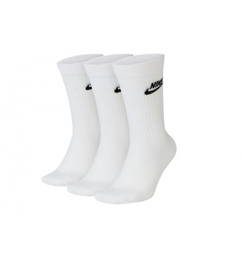 Calcetin Nike Nsw Evry Essential Crew Blanco