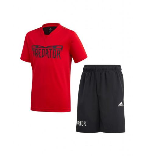 Conjunto Adidas Predator Sum Rojo