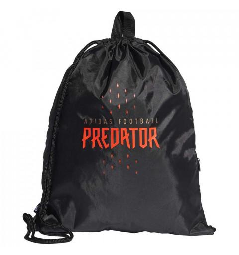 Gymsack Adidas Predator Negro-Rojo
