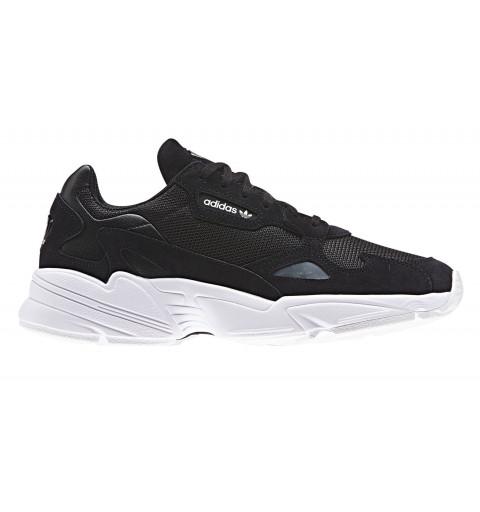 Adidas Falcon W Negra-Blanca