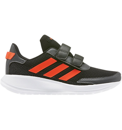 Adidas Tensaur Run C Negra-Roja