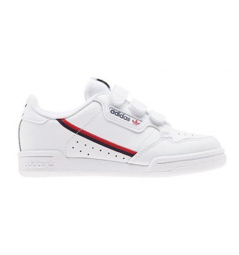 Adidas Continental 80 Velcro Blanca