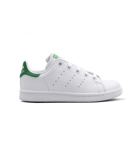Adidas Stan Smith Niño Blanca-Verde