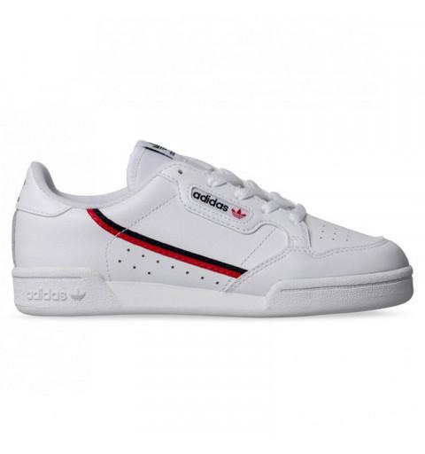 Adidas Continental 80 Niño Blanca-Roja